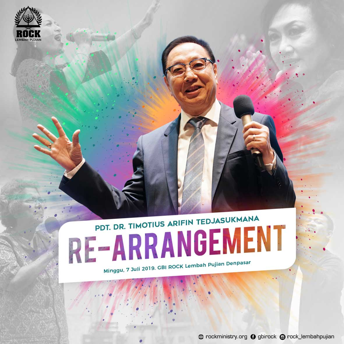 RE-ARRANGEMENT | Pdt. Dr. Timotius Arifin Tedjasukmana