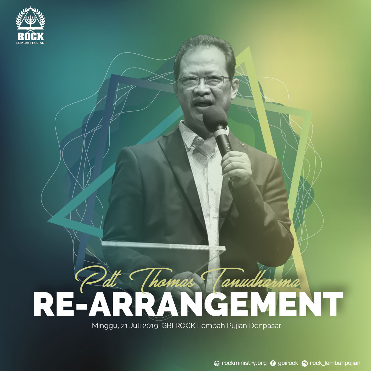 RE-ARRANGEMENT | Pdt. Thomas Tanudharma