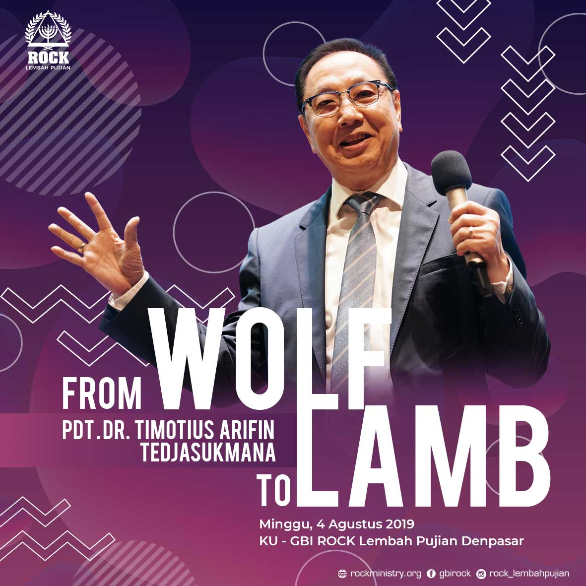 FROM WOLF TO LAMB | Pdt. Dr. Timotius Arifin Tedjasukmana